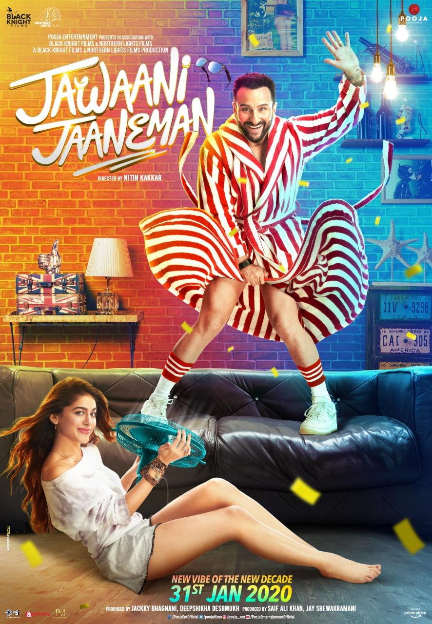 Jawaani Jaaneman (2020) Hindi WEB-DL - 480P | 720P | 1080P - x264 - 400MB | 1GB | 2.7GB - Download & Watch Online  Movie Poster - mlsbd