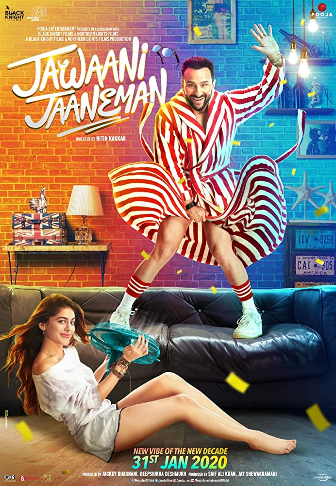 Jawaani Jaaneman (2020) ORG Hindi 1080p 720p HD AMZN DD 5.1