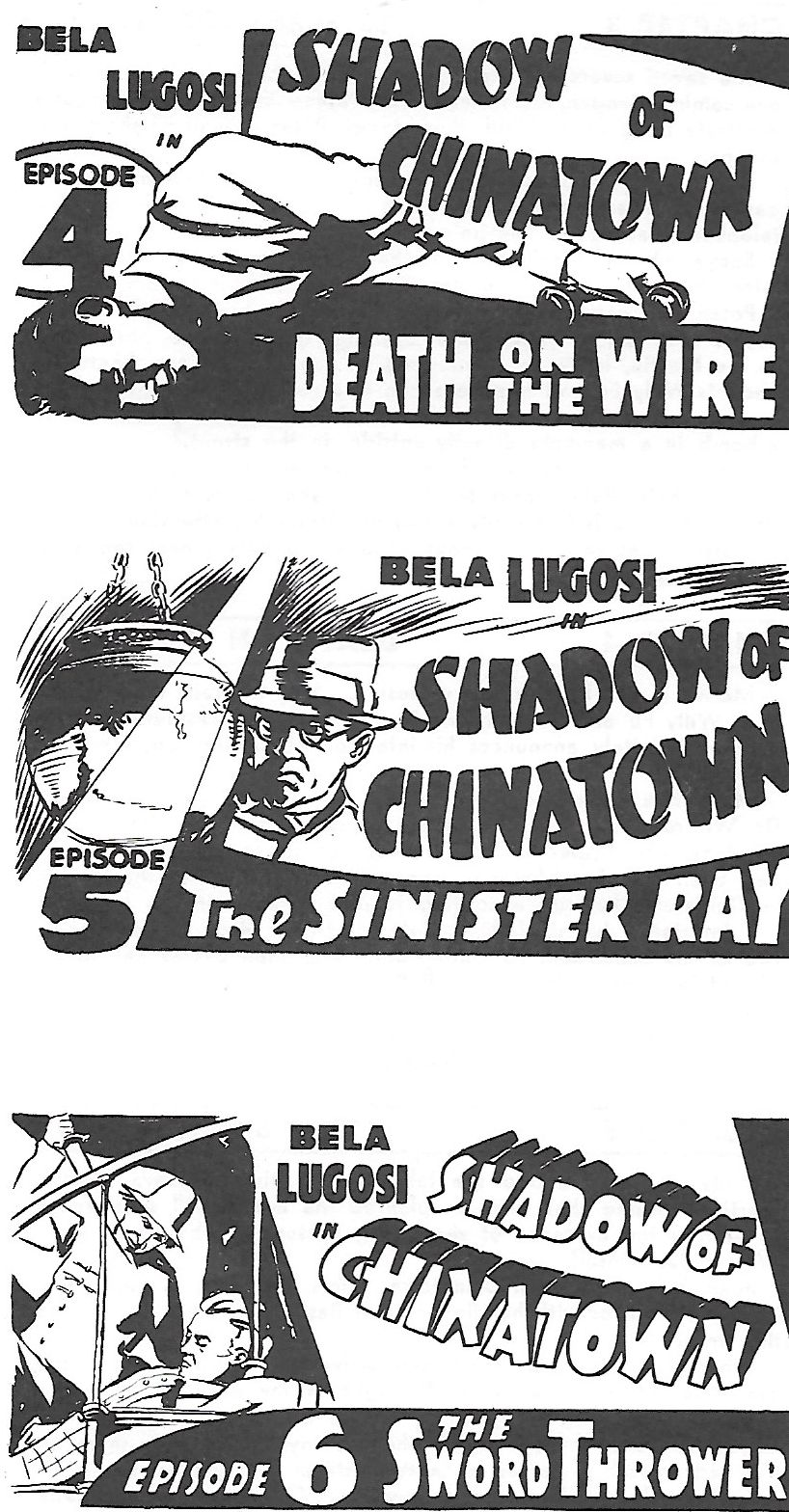Bela Lugosi in Shadow of Chinatown (1936)