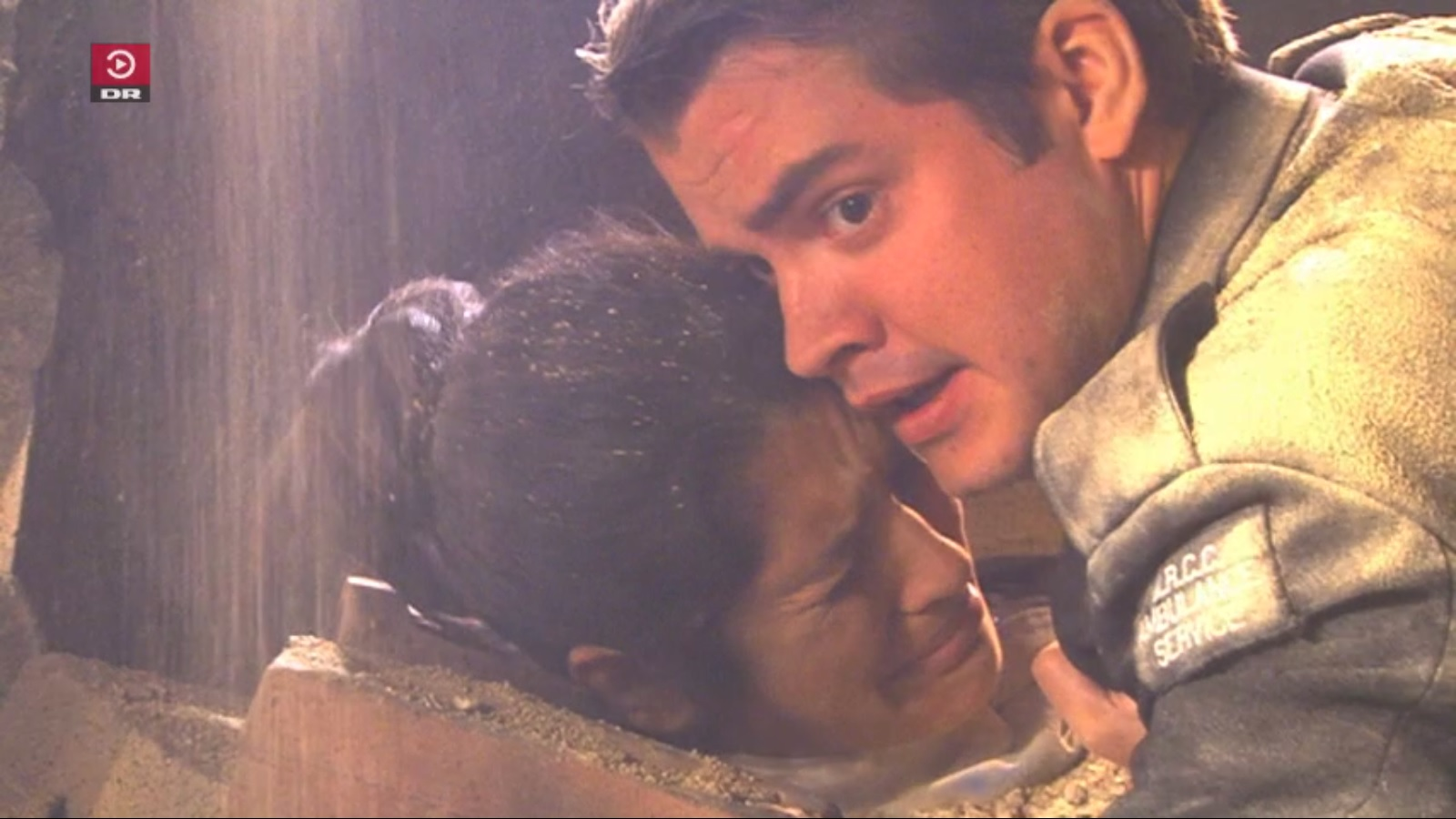 Scott Taylor and Natalie Anderson in The Royal (2003)
