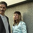 Simon Abkarian and Audrey Lamy in Rebelles (2019)
