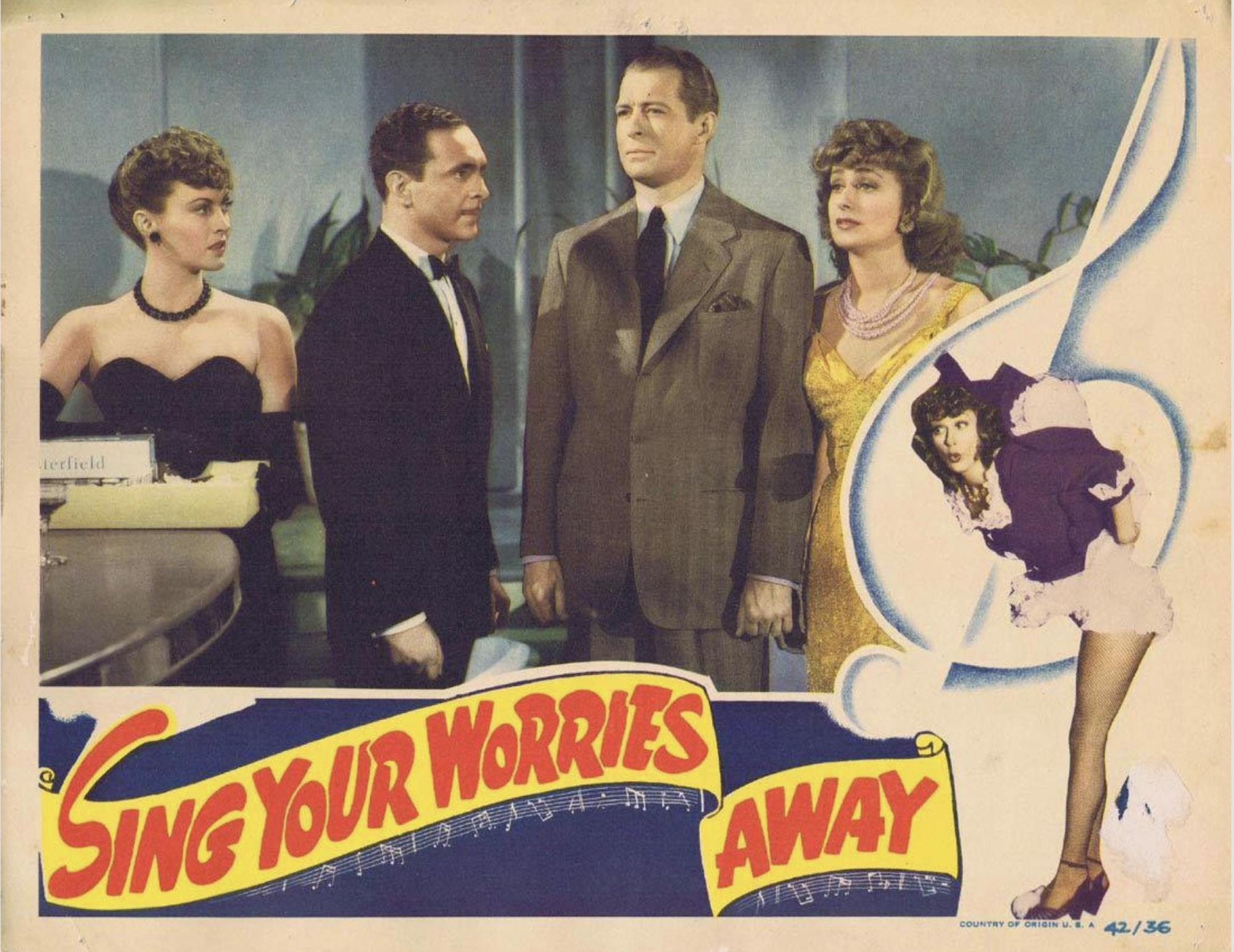 June Havoc and Sam Levene in Sing Your Worries Away (1942)