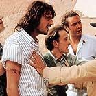Diego Abatantuono, Gigio Alberti, Fabrizio Bentivoglio, and Giuseppe Cederna in Marrakech Express (1989)