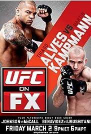 UFC on FX: Alves vs. Kampmann Poster