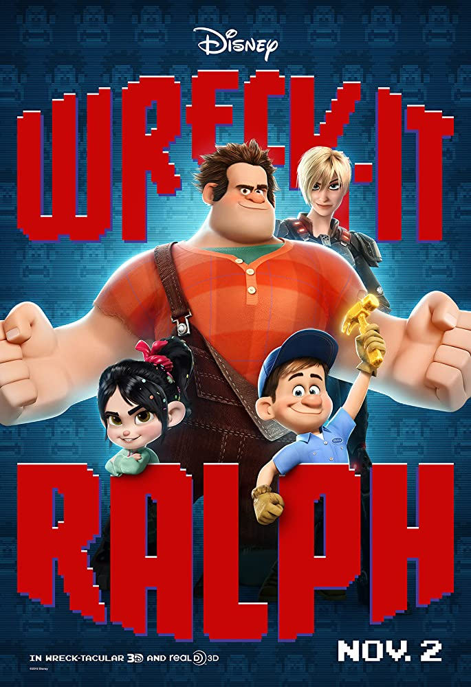 Wreck-It Ralph 2012 Hindi ORG Dual Audio 720p BluRay 800MB ESub Download