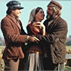 Paul Michael Glaser, Michele Marsh, and Topol in Fiddler on the Roof (1971)