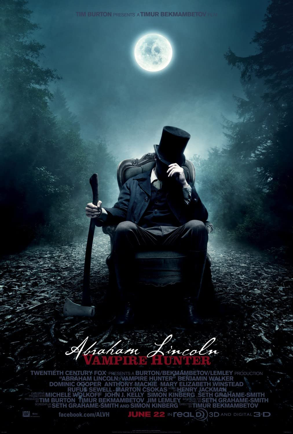 Abraham Lincoln: Vampire Hunter (2012) in Hindi