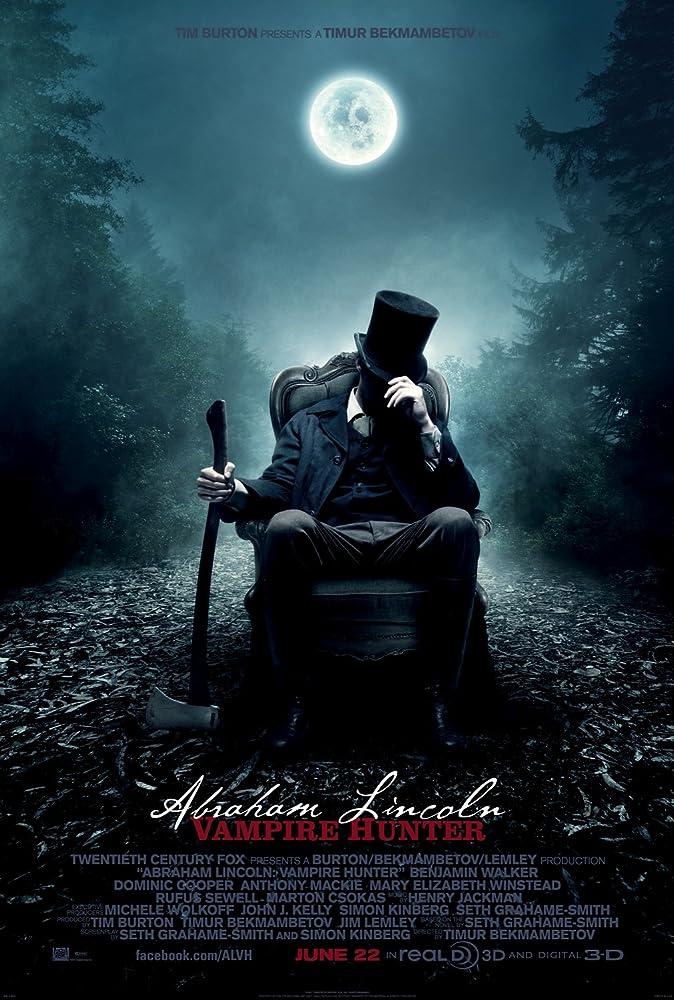 ดูหนังออนไลน์ฟรี Abraham Lincoln: Vampire Hunter ประธานาธิบดี ลินคอล์น นักล่าแวมไพร์