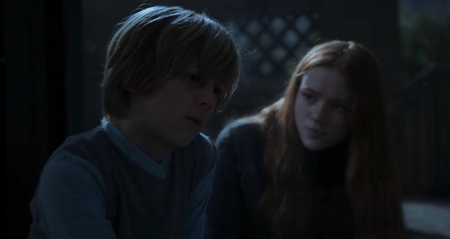Sadie Sink and Charlie Shotwell in Eli (2019)