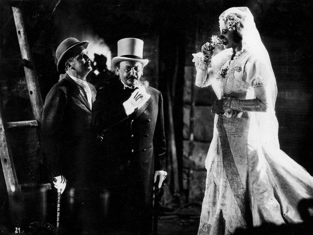 Rudolf Forster, Carola Neher, and Reinhold Schünzel in Die 3 Groschen-Oper (1931)