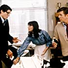 Christopher Reeve, Jackie Cooper, and Margot Kidder in Superman (1978)