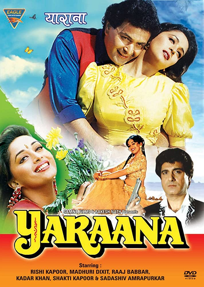 Yaraana 1995 Hindi Movie WebRip 300mb 480p 1GB 720p 5GB 1080p