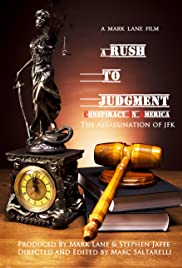 A Rush to Judgment Poster