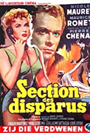 Section des disparus Poster