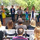 Debbie Matenopoulos, John Salley, Mark Steines, Orly Shani, Kym Douglas, Oz Pearlman, and Kenneth Wingard in Home & Family (2012)