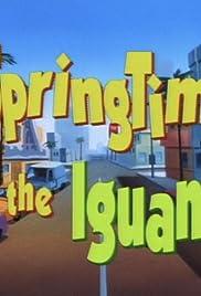 Springtime for the Iguana Poster