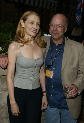 Patricia Clarkson and Bingham Ray at an event for Pieces of April (2003)