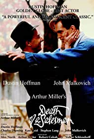 Dustin Hoffman and John Malkovich in Death of a Salesman (1985)