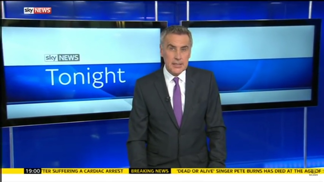 Dermot Murnaghan in Sky News Tonight (2014)