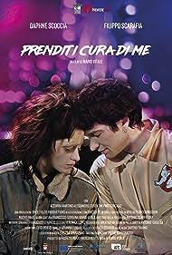 Filippo Scarafia and Daphne Scoccia in Prenditi cura di me (2018)