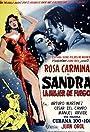 Sandra, la mujer de fuego