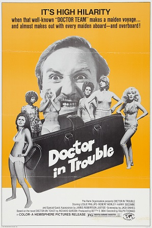 Doctor In Trouble 1970 Dual Audio Hindi 300MB DVDRip ESubs