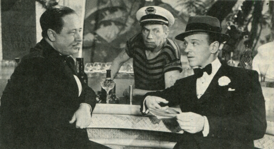 Fred Astaire and Robert Benchley in The Sky's the Limit (1943)