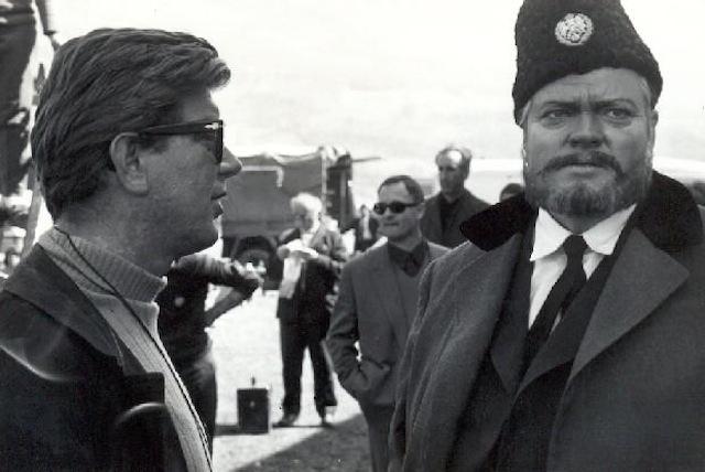 Orson Welles and Tomislav Pinter in Bitka na Neretvi (1969)