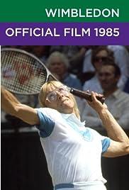 Wimbledon Official Film 1985 Poster