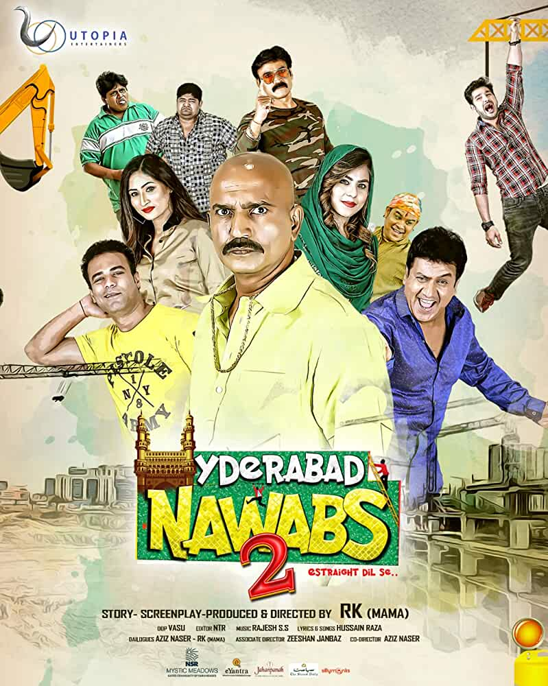 Hyderabad Nawabs 2 (2019) in Hindi