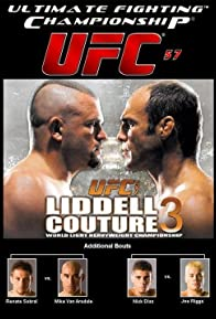 Primary photo for UFC 57: Liddell vs. Couture 3