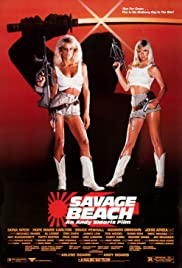 Savage Beach Poster