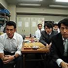 Kiyohiko Shibukawa, Shôta Sometani, and Kento Nagayama in Nakimushi Shottan no kiseki (2018)