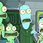 Justin Roiland, Mary Mack, Thomas Middleditch, and Sean Giambrone in Solar Opposites (2020)