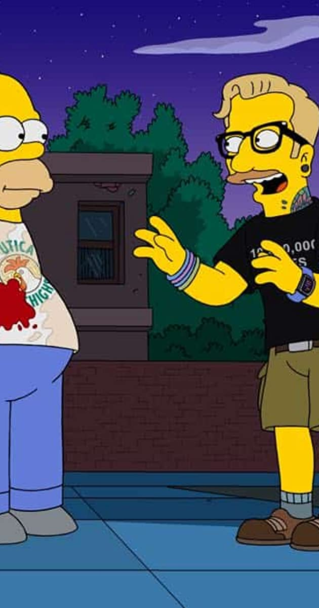 The Simpsons The Winter Of Our Monetized Content Tv