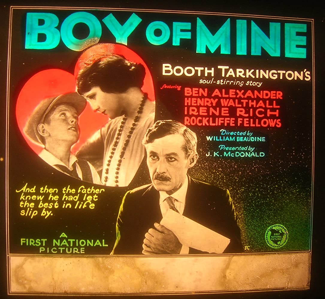 Boy of Mine (1923)
