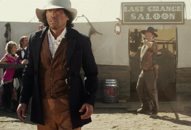 Peter Shinkoda as Chinaman Dan and Michael Lee Merrins as the Bounty Hunter