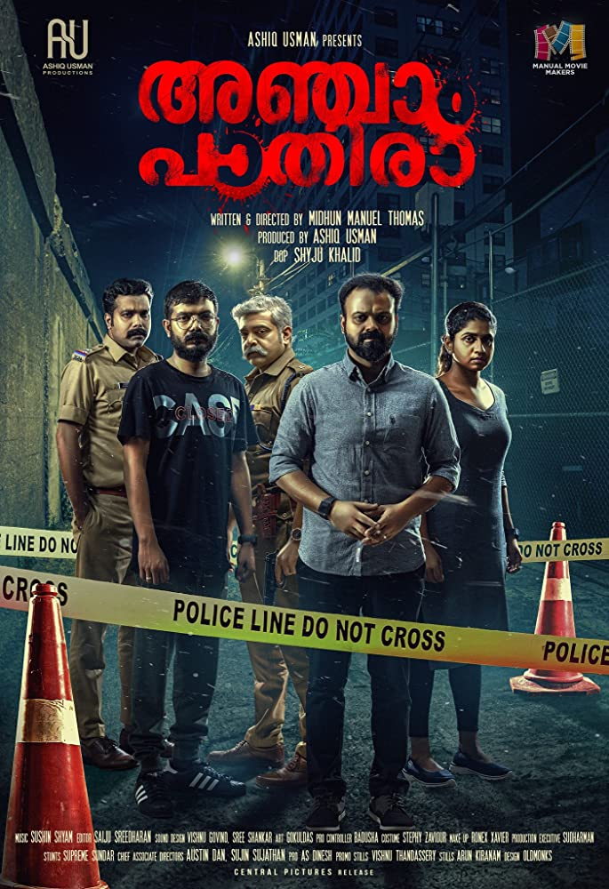 Anjaam Pathiraa (2020) Malayalam Full Movie Watch Online Download
