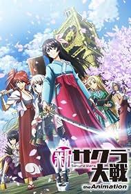 Saori Hayami, Ayane Sakura, Maaya Uchida, Hibiku Yamamura, Ayaka Fukuhara, and Misaki Watada in Sakura Taisen: The Animation (2020)