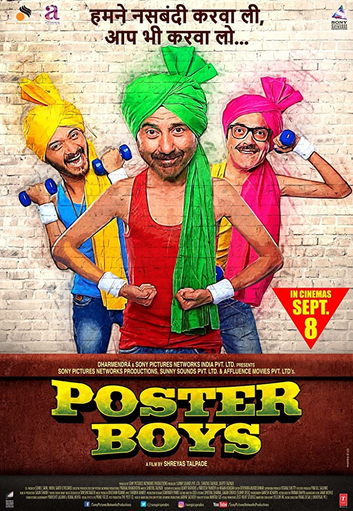 Poster Boys 2017 Movie DvdRip 300mb 480p 700mb 1GB 720p