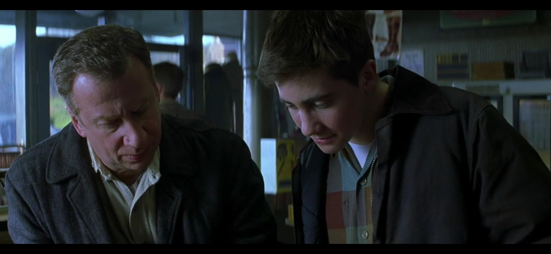 Elya Baskin and Jake Gyllenhaal in October Sky (1999)