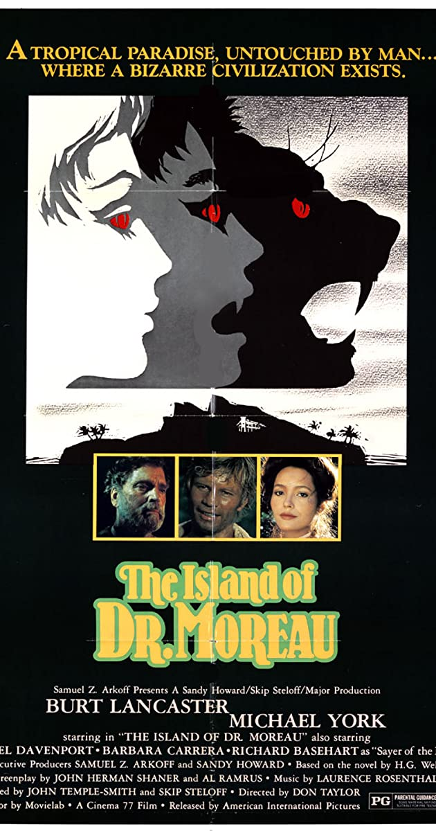 Subtitle of The Island of Dr. Moreau