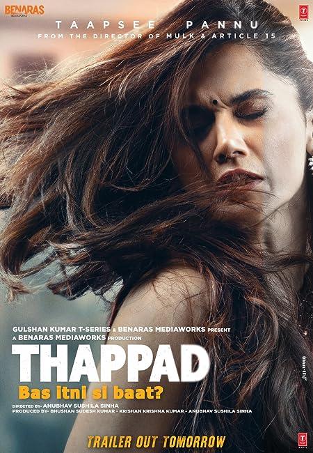 Thappad (2020) Hindi (New Print) 720p Pre-DvDRip x265 AAC 900MB