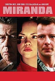 Christina Ricci, John Hurt, and John Simm in Miranda (2002)