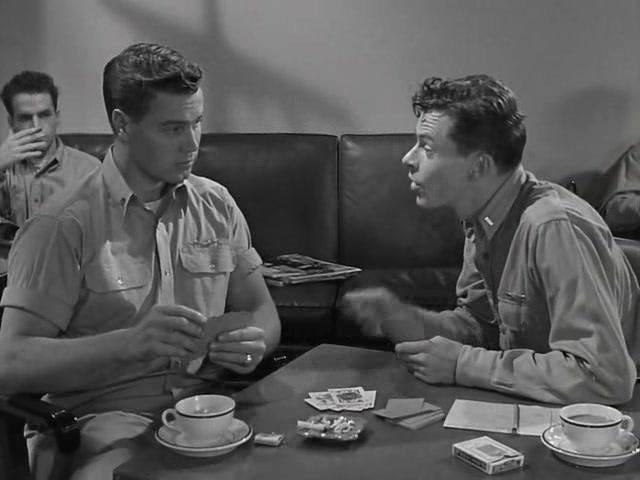 Richard Crane and George Offerman Jr. in Wing and a Prayer (1944)