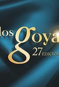 Primary photo for Los Goya 27 edición