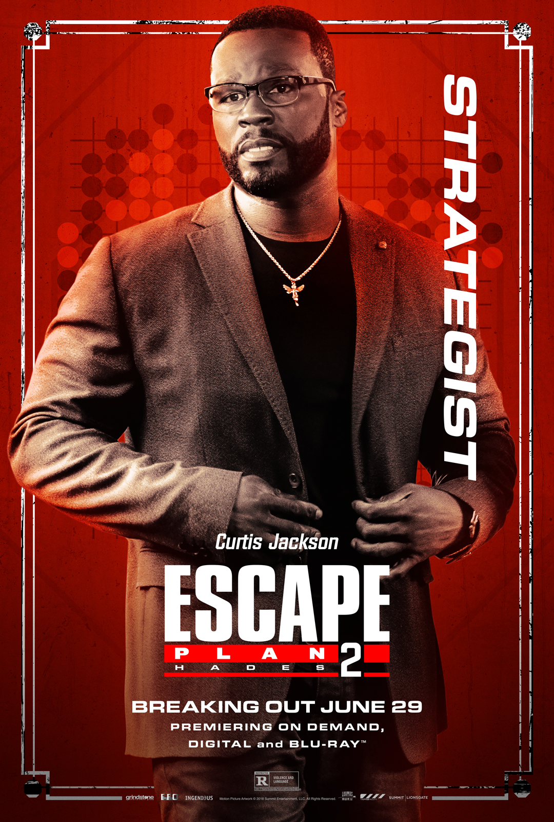50 Cent in Escape Plan 2: Hades (2018)