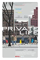 Private Life (2018) Poster