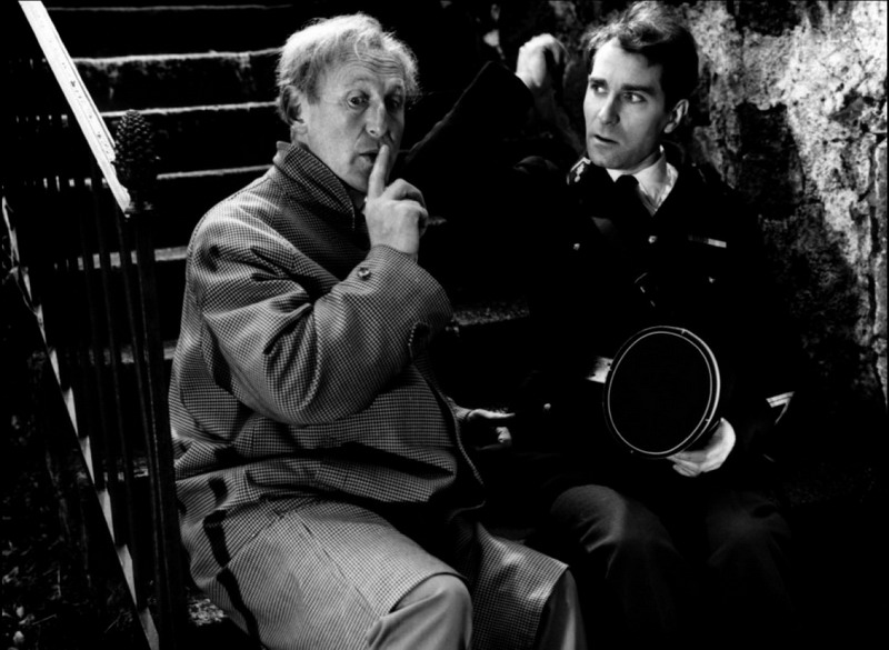 Bourvil and Jean Poiret in La grande frousse (1964)