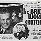 Robert Armstrong, Ted North, and Lynne Roberts in The Bride Wore Crutches (1940)